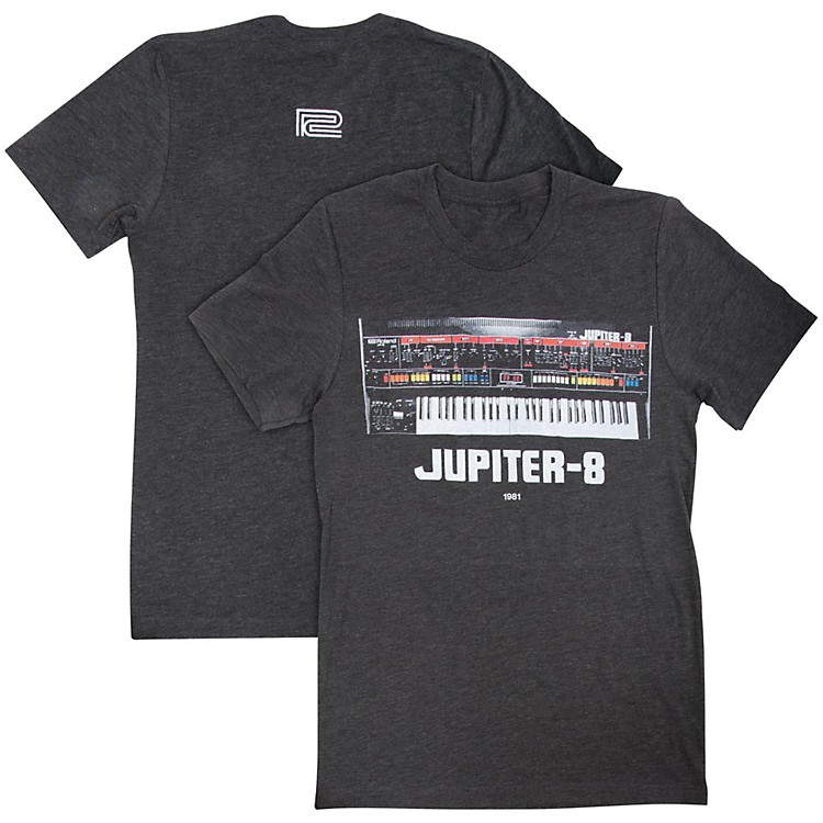 Roland Jupiter 8 Crew T-Shirt Large