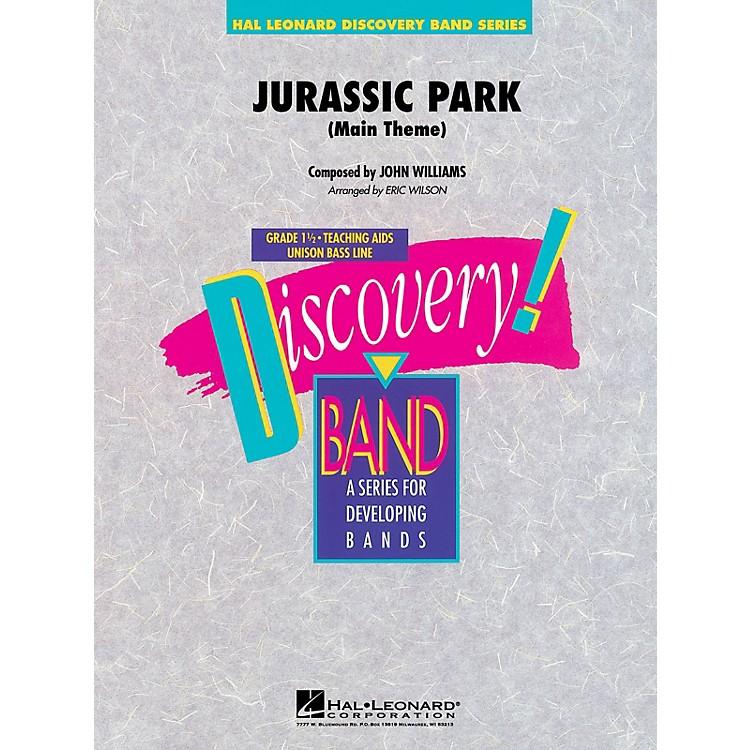 Hal LeonardJurassic Park (Main Theme) Concert Band Level 1.5 Arranged by Eric Wilson