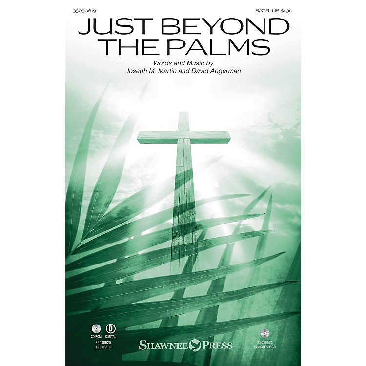 Shawnee PressJust Beyond the Palms Studiotrax CD Composed by David Angerman