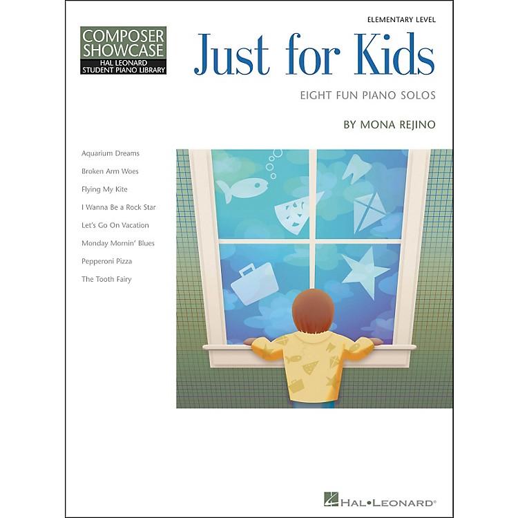 Hal LeonardJust For Kids  -Eight Fun Piano Solos -Composer Showcase Elementary Level