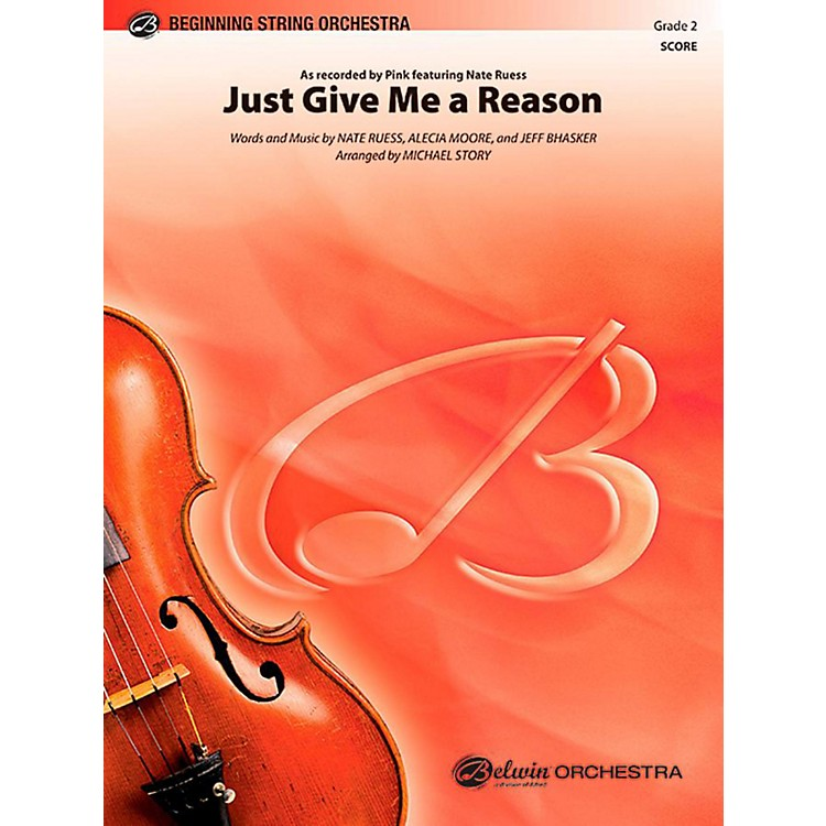 AlfredJust Give Me a Reason String Orchestra Level 2 Set