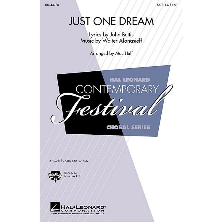 Hal LeonardJust One Dream SAB by Heather Headley Arranged by Mac Huff