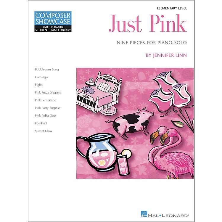 Hal LeonardJust Pink - Elementary Level Piano Solo Hal Leonard Student Piano Library by Jennifer Linn