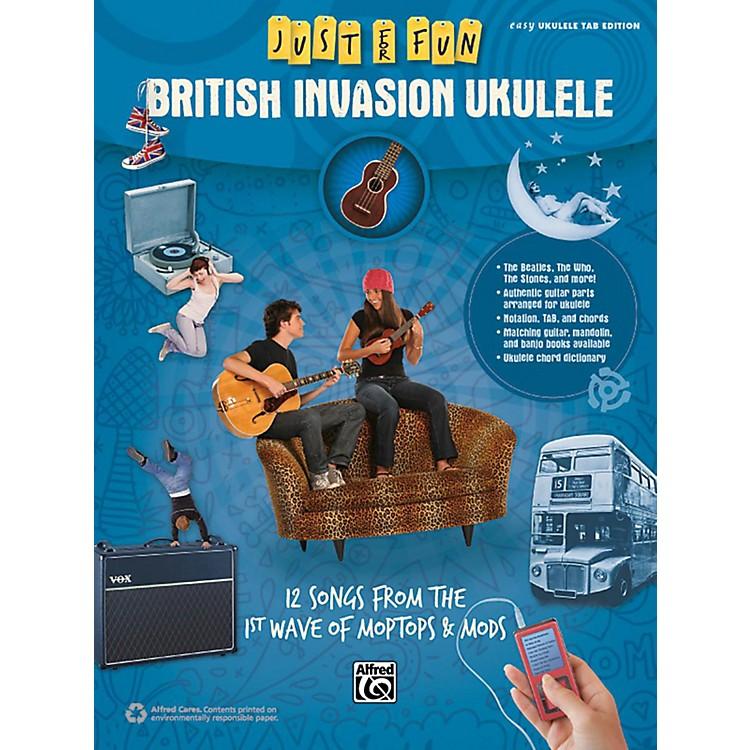 AlfredJust for Fun British Invasion Ukulele Book