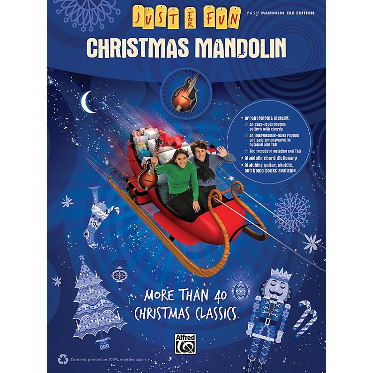 AlfredJust for Fun Christmas Mandolin