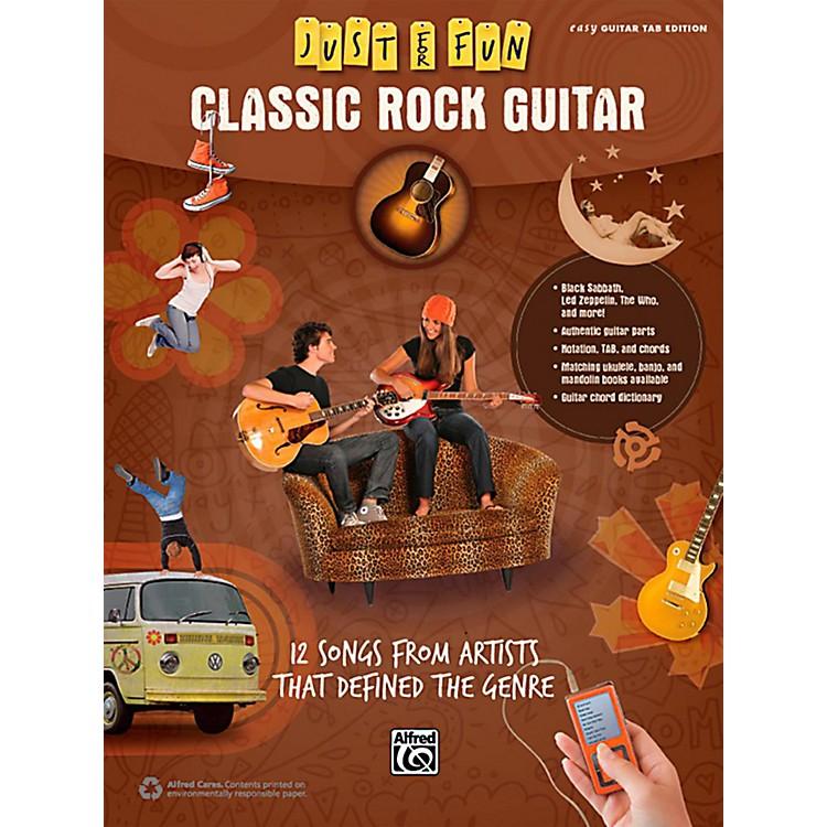 AlfredJust for Fun Classic Rock Guitar Book