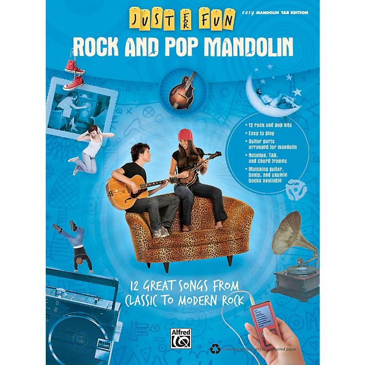 AlfredJust for Fun: Rock and Pop Mandolin (Book)