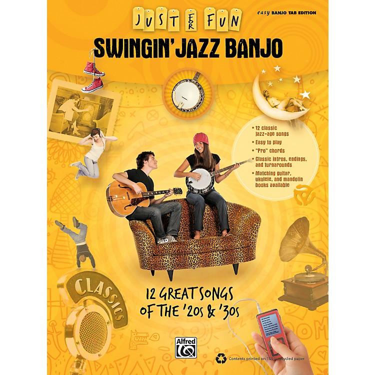 AlfredJust for Fun: Swingin' Jazz Banjo (Book)