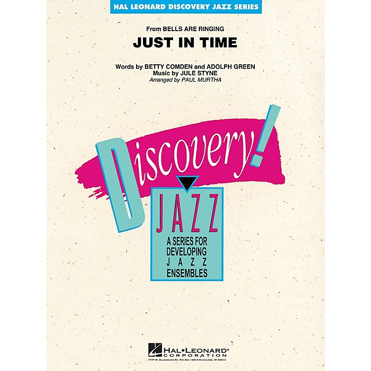 Hal LeonardJust in Time Jazz Band Level 1-2 Arranged by Paul Murtha