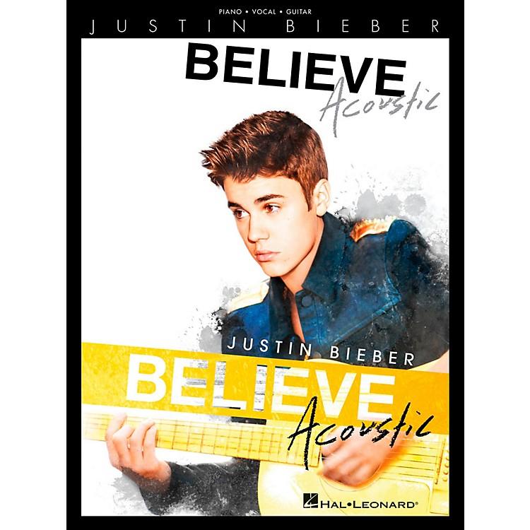 Hal LeonardJustin Bieber - Believe Acoustic for Piano/Vocal/Guitar (P/V/G)