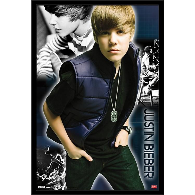 Trends InternationalJustin Bieber - Cool PosterFramedBlack