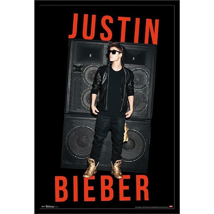 Trends InternationalJustin Bieber - Speakers PosterFramedBlack