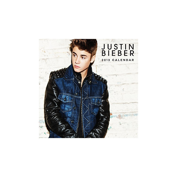 Browntrout Publishing Justin Bieber 2013 Square 12X12 Calendar