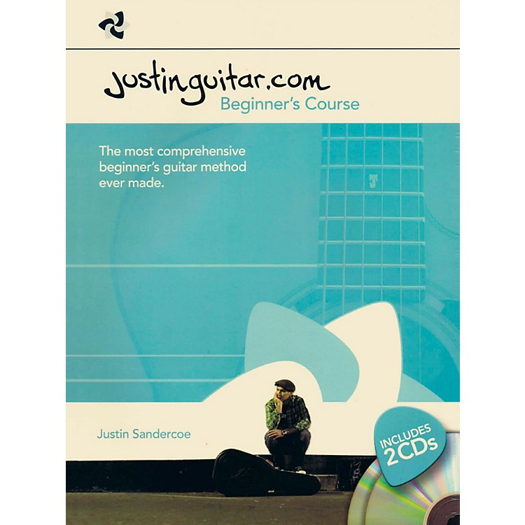 Music SalesJustinguitar.com - Beginner's Course Book/2-CD Pack