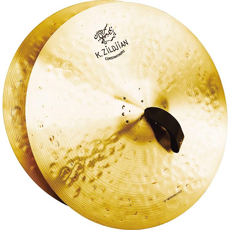 ZildjianK Constantinople Medium Light Crash Cymbal Pair18 in.