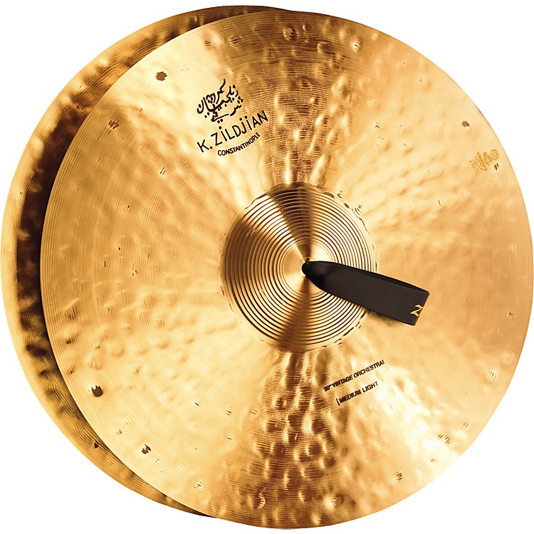 Zildjian K Constantinople Vintage Medium Light Crash Cymbal Pair 18 in.
