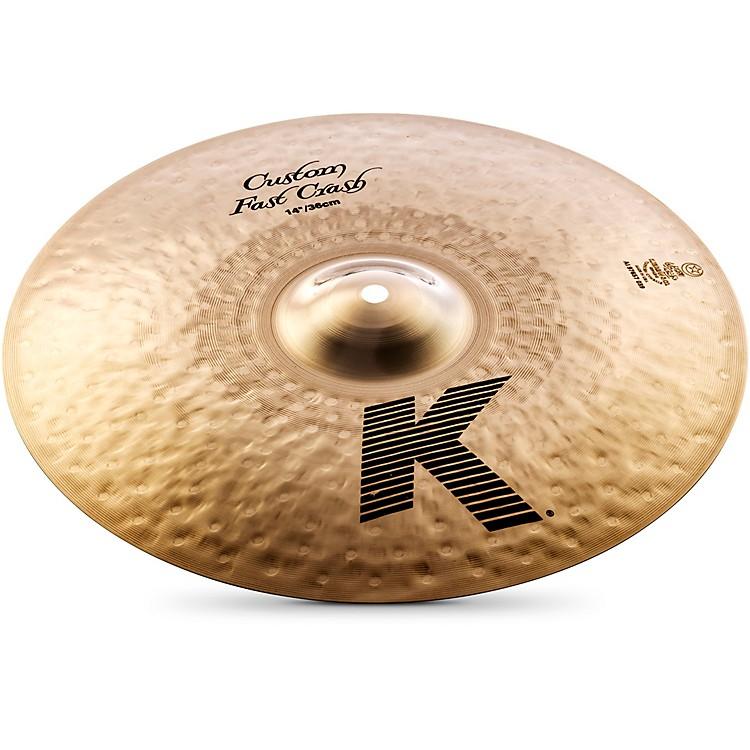 ZildjianK Custom Fast Crash Cymbal14 in.