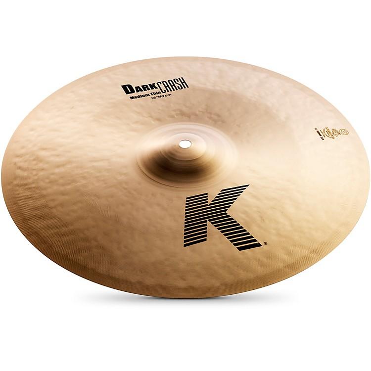 ZildjianK Dark Medium-Thin Crash Cymbal16 in.