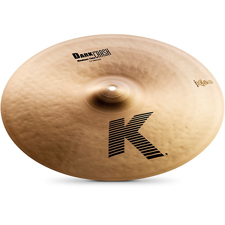 Zildjian K Dark Medium-Thin Crash Cymbal  17 in.