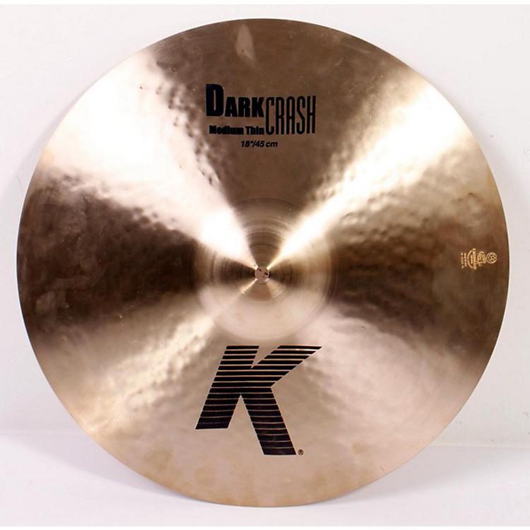 ZildjianK Dark Medium-Thin Crash Cymbal886830892851