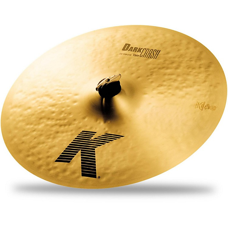 Zildjian K Dark Thin Crash Cymbal  15 in.