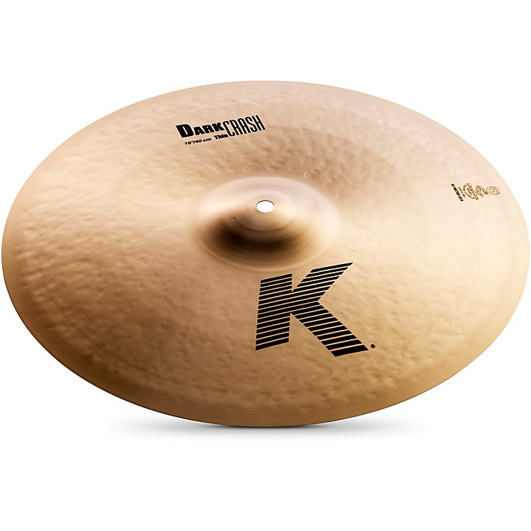 ZildjianK Dark Thin Crash Cymbal16 in.