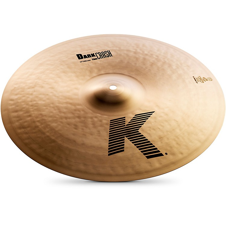 Zildjian K Dark Thin Crash Cymbal  16 in.