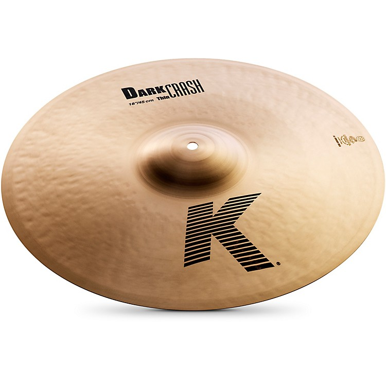 ZildjianK Dark Thin Crash Cymbal18 in.