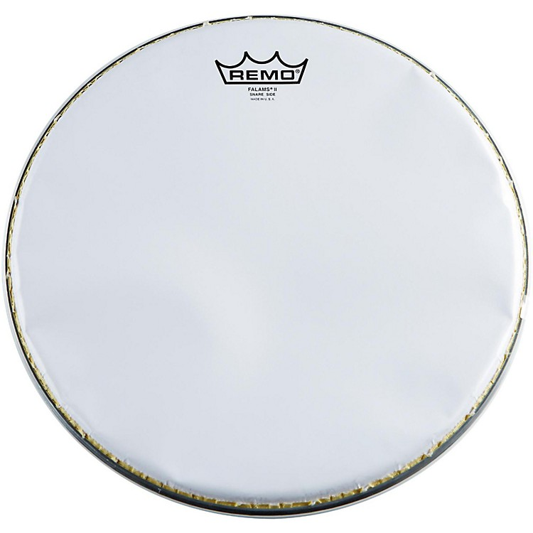 Remo K-Falam Smooth White Snare Side Drum Head  13 in.