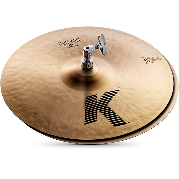 ZildjianK Light Hi-Hat Pair Cymbal14 in.