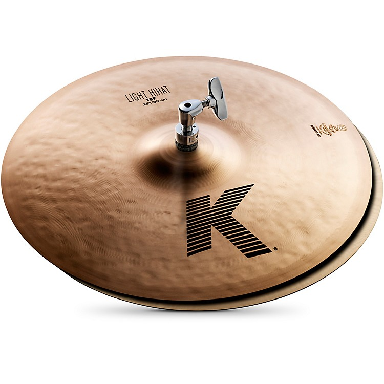 Zildjian K Light Hi-Hat Pair Cymbal 15 in.