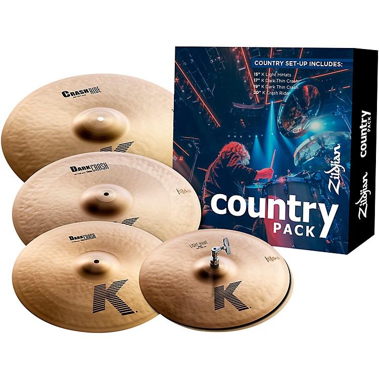 ZildjianK Series Cymbal Pack Country