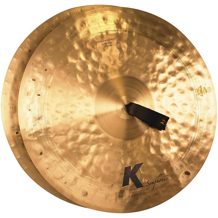 Zildjian K Symphonic Orchestral Crash Cymbal Pair 20 in.