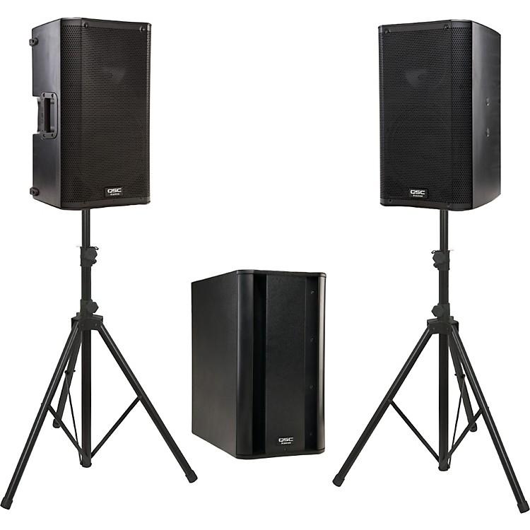 qsc k10 ksub powered speaker package music123. Black Bedroom Furniture Sets. Home Design Ideas