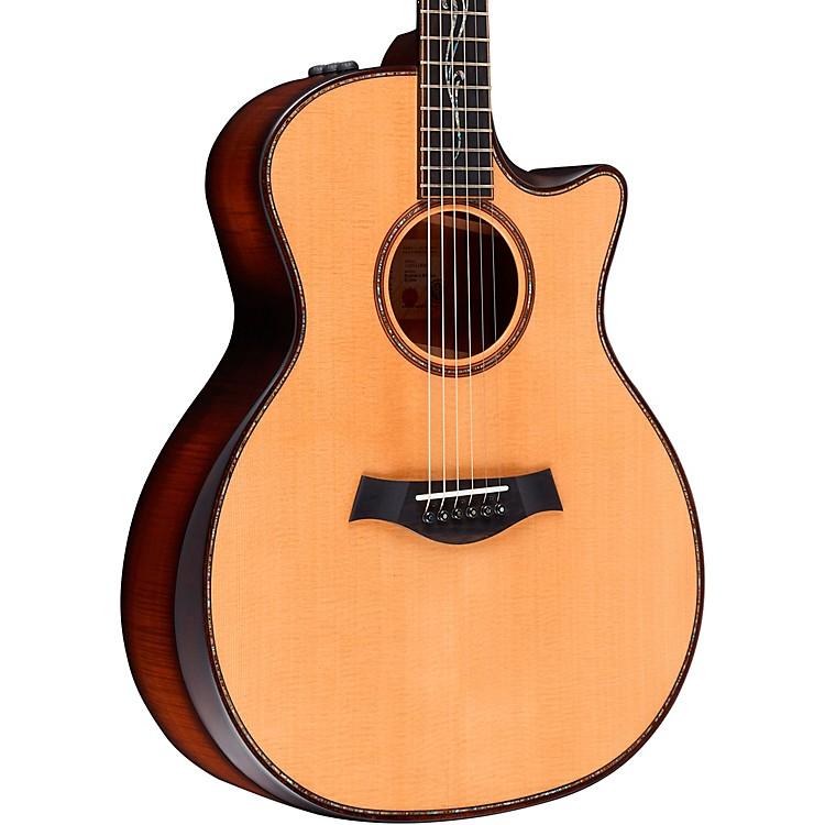 TaylorK14ce V-Class Builder's Edition Grand Auditorium Acoustic-Electric GuitarKona Burst