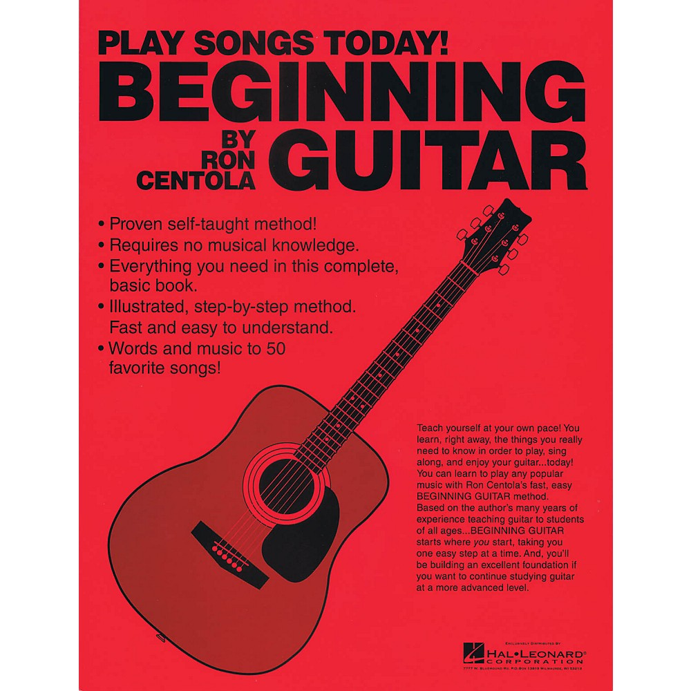 The Best Beginner Guitar Book: This Book Will Teach You To Play The Guitar