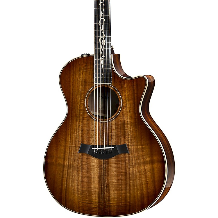 Taylor K24ce V-Class Grand Auditorium Acoustic-Electric Guitar Shaded Edge Burst