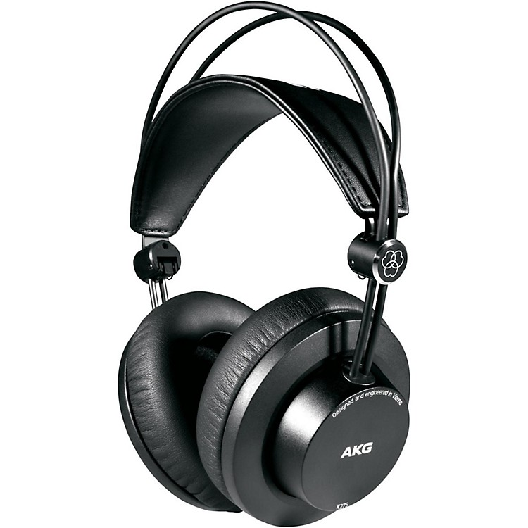 AKGK275 Closed Back Circumaural Studio HeadphonesBlack