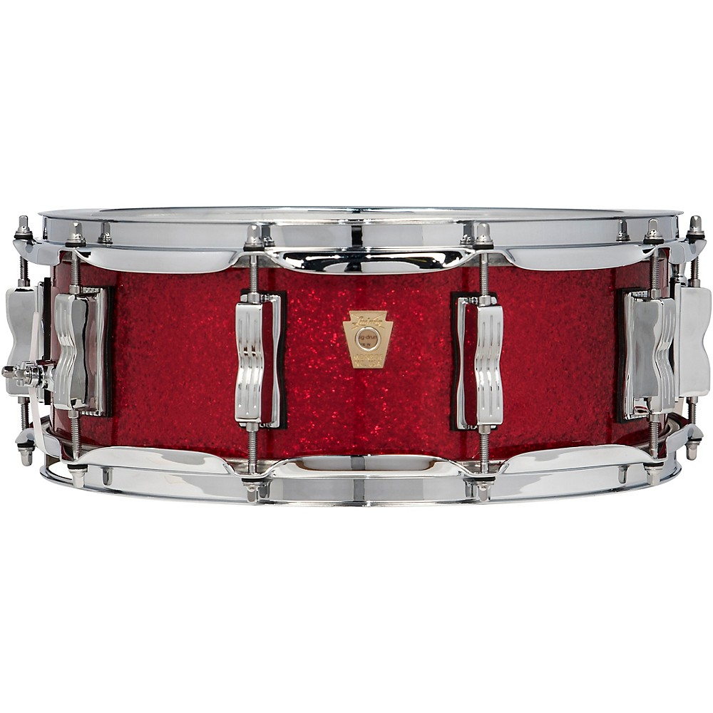 ludwig classic maple snare drum 14 x 5 in red sparkle 641064269288 ebay. Black Bedroom Furniture Sets. Home Design Ideas