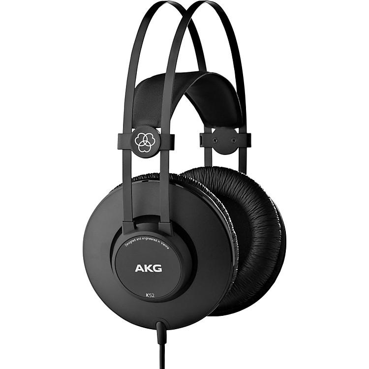 AKGK52 Closed-Back Headphones with Professional Drivers