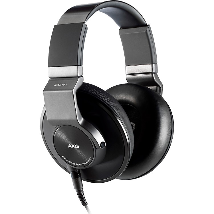 AKGK553 MKII Closed Back Studio HeadphonesBlack