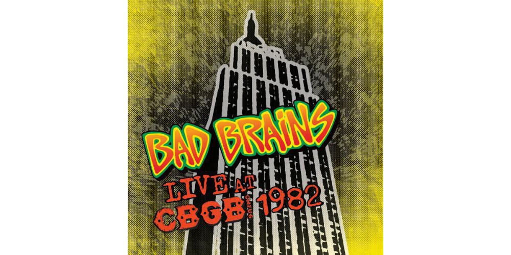 Bad Brains Live Cbgb 1982 Limited Edition Colored