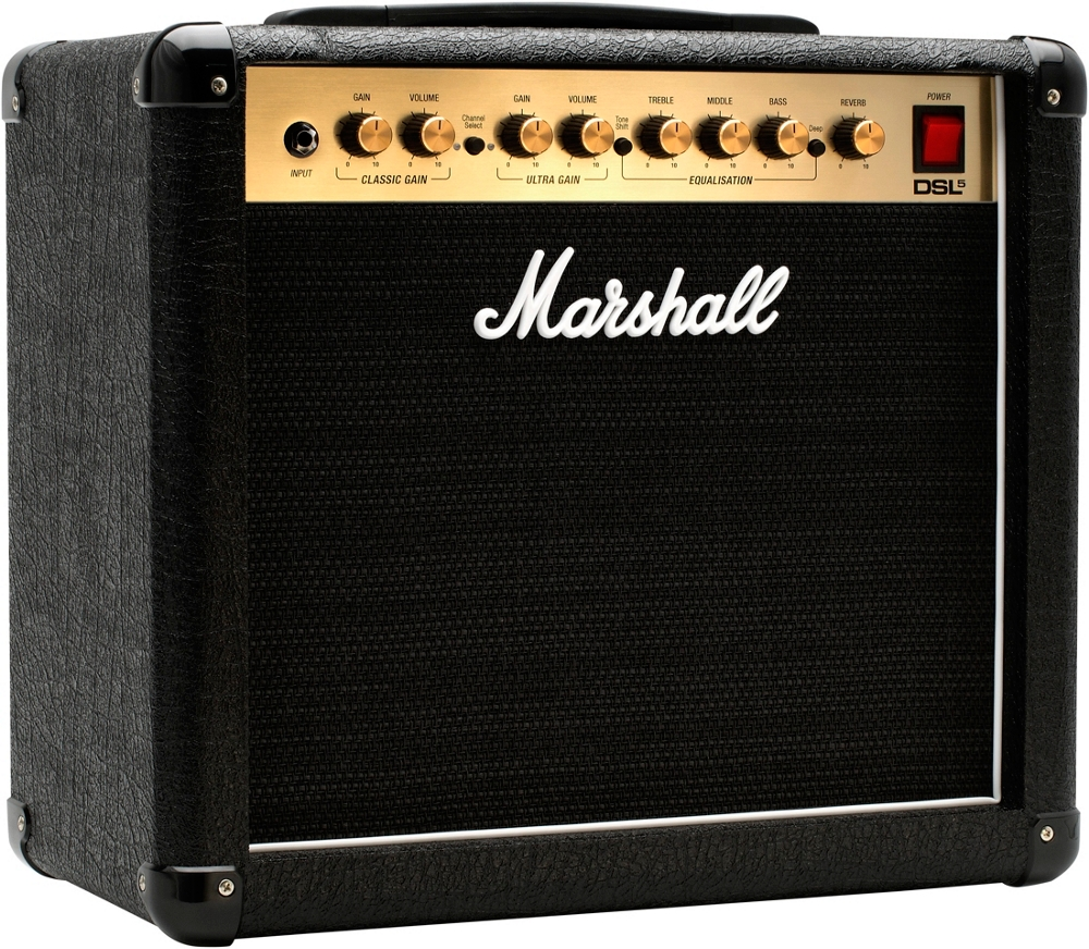 marshall dsl5cr 5w 1x10 tube guitar combo amp ebay. Black Bedroom Furniture Sets. Home Design Ideas