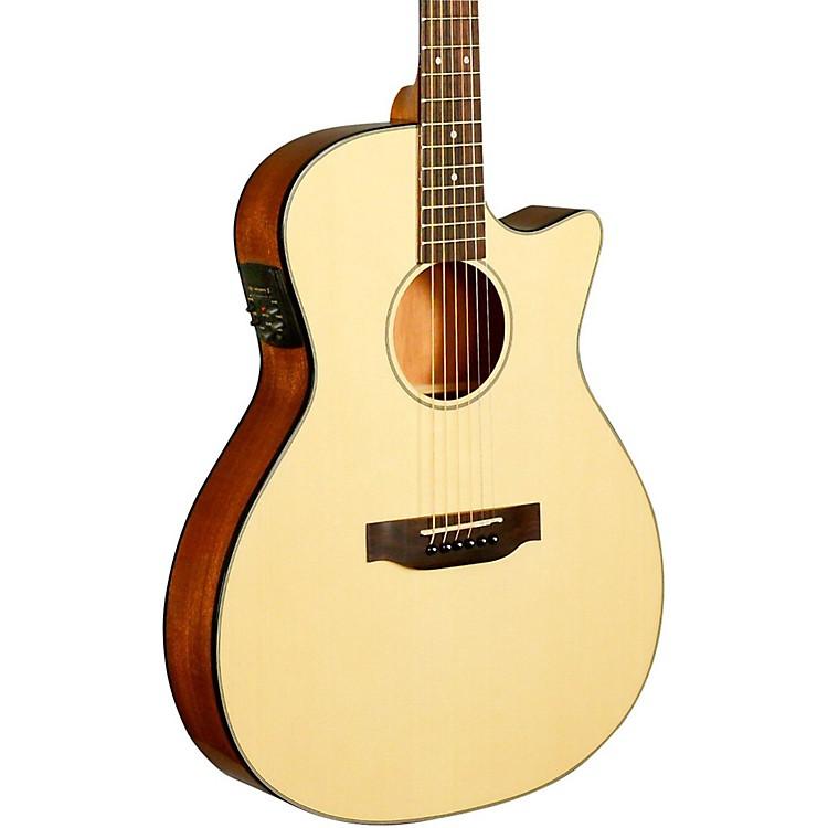 KalaKA-GTR-MTN-E Thinline Nylon String Acoustic-Electric GuitarNatural