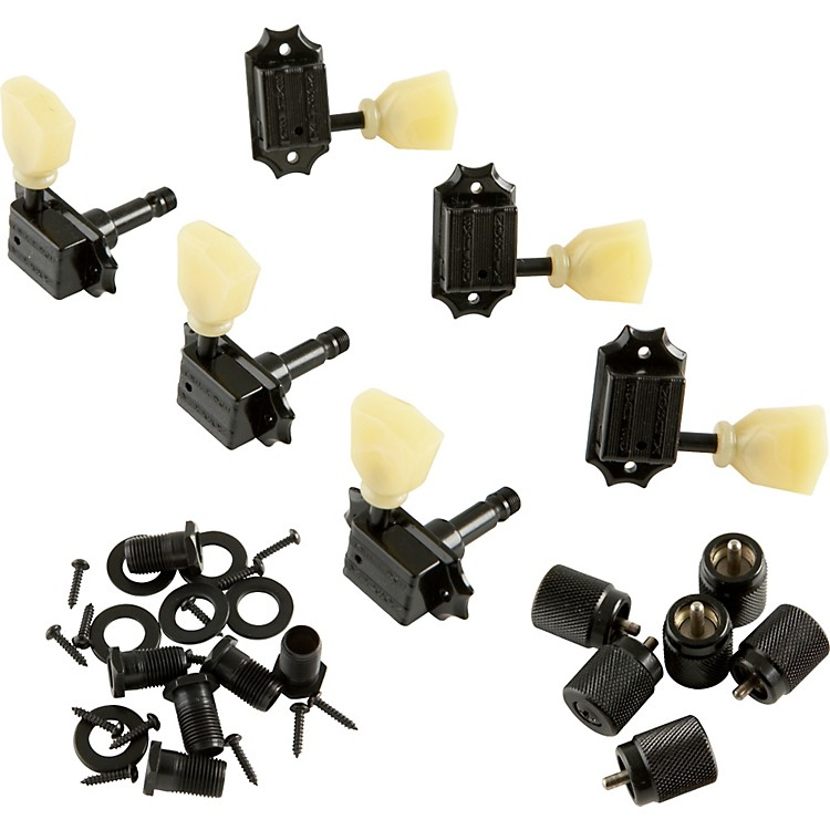 kluson kb3l keystone locking guitar tuning machines 3 per side bolt bushing music123. Black Bedroom Furniture Sets. Home Design Ideas