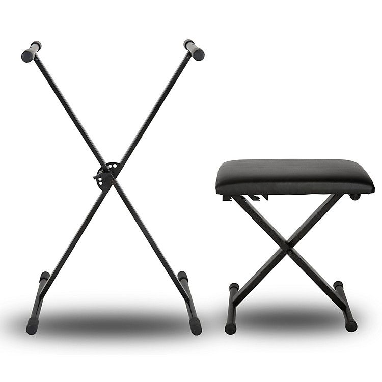 Musician's GearKBX1 Keyboard Stand and Padded Piano Bench