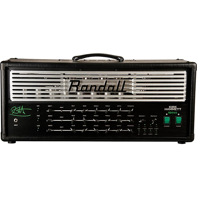 RandallKH103 Kirk Hammett Signature 120W Tube Guitar Amp Head