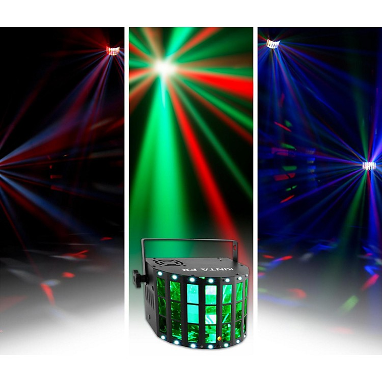 CHAUVET DJKINTA FX Derby Party Light Effect with Laser, LED, Strobe