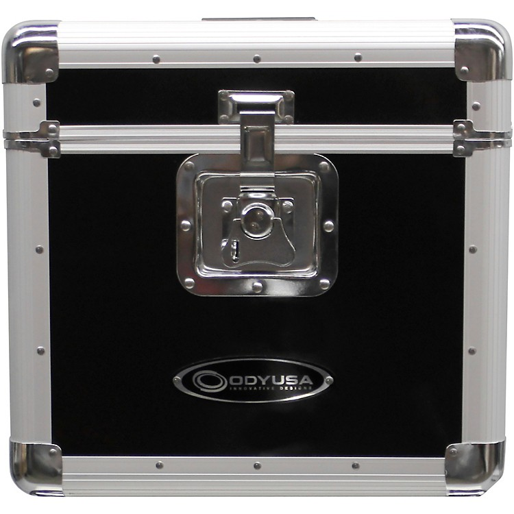 OdysseyKLP2BLK Stackable Record Utility Case for 12