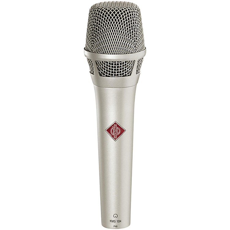 Neumann KMS 104 Handheld Vocal Condenser Microphone Nickel